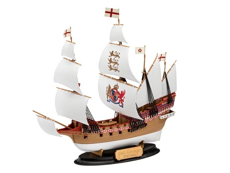 HMS Segelschiff Revenge 1:350 easy-click-system Bausatz