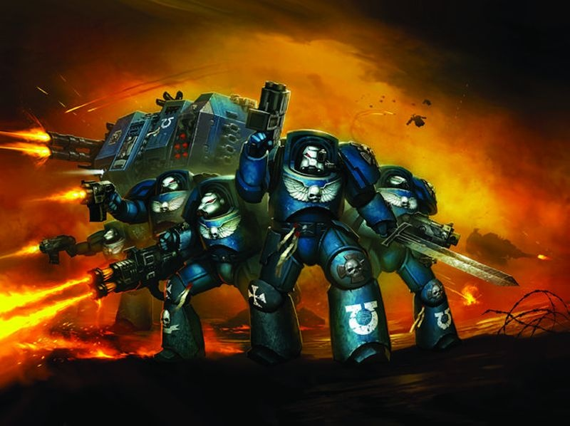 Space Marine Heavy Assault