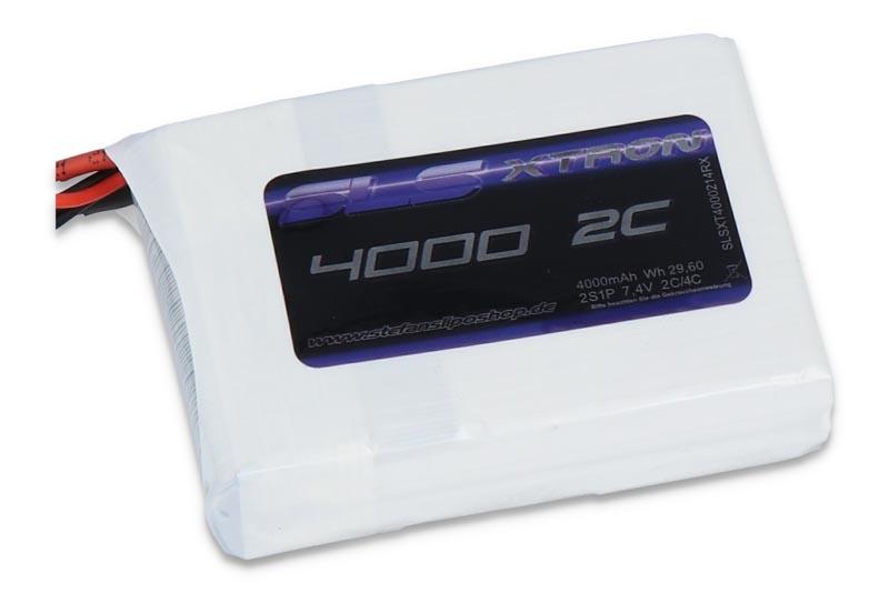 XTRON RTX 4000mAh 2S1P 7,4V 2C/4C