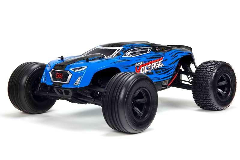 Fazon Voltage 2WD 1/10 Monster Truck RTR blau/schwarz