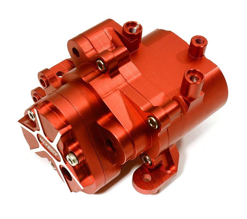 CNC Aluminium mittleres Getriebegehäuse für TRX-4, rot