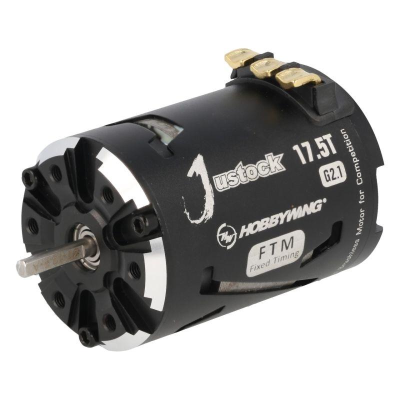 Xerun Justock 17.5T G2.1 Brushless Motor 2200kV 1/10 Stock