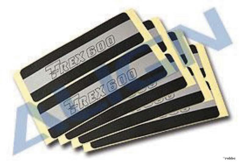 Paddel-Sticker für T-Rex 600