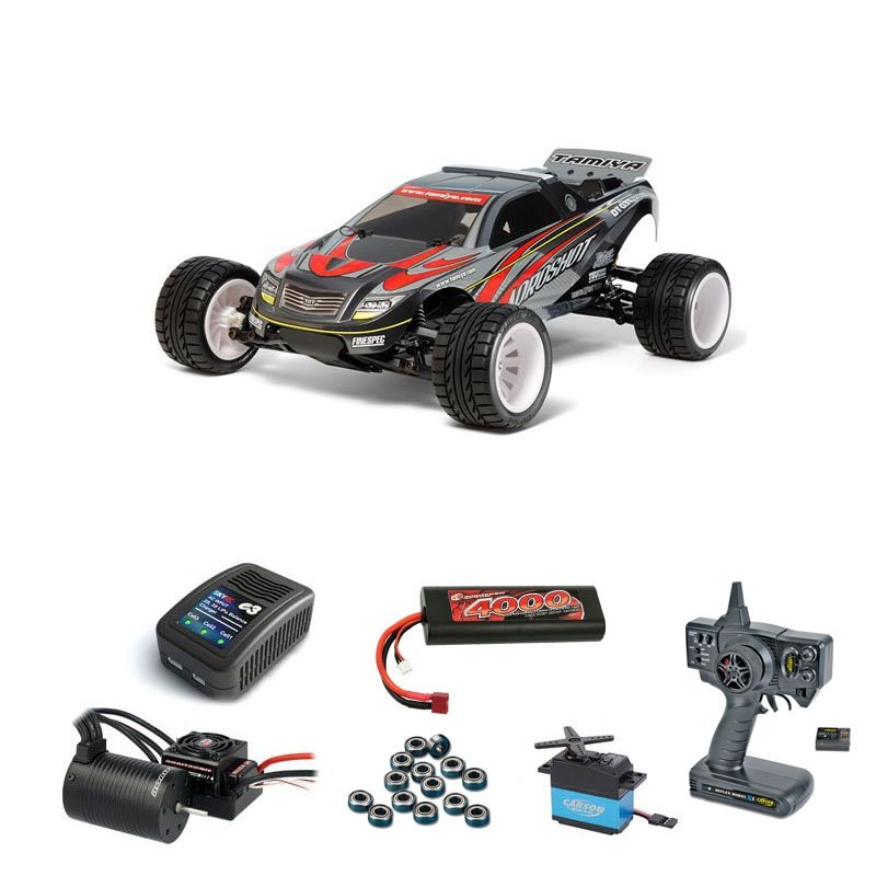 Aqroshot 1/10 Truggy DT-03T Brushless-Edition Komplett-Set