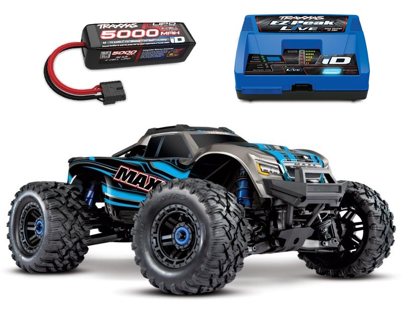Maxx 4S 1:10 4WD Monster Truck Brushless TQi 90+ km/h blau