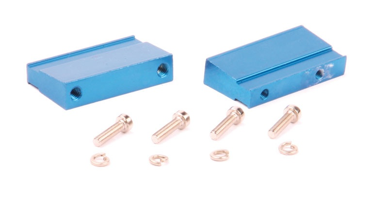 Motorhalter (blau) für Rebel BX/TX 3,5-5,0ccm