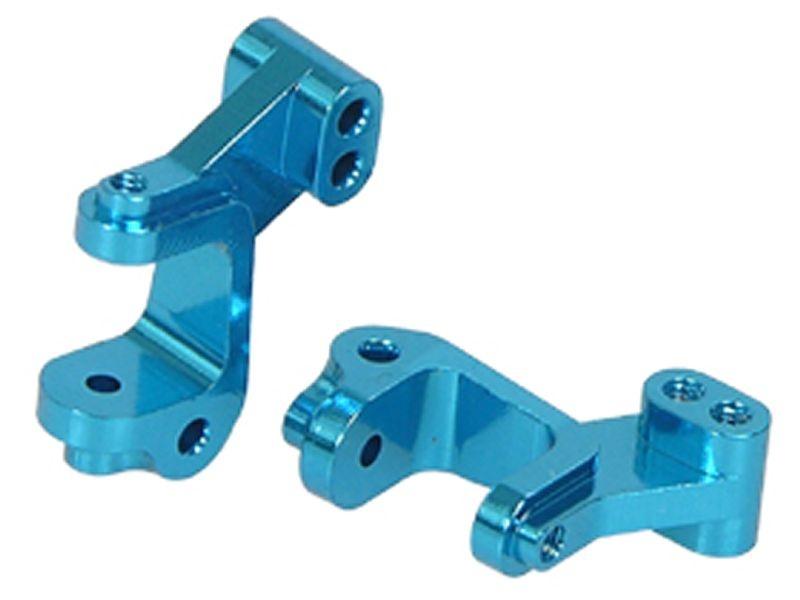 Aluminium C-Hub vorn Light Blue für Losi Micro-T