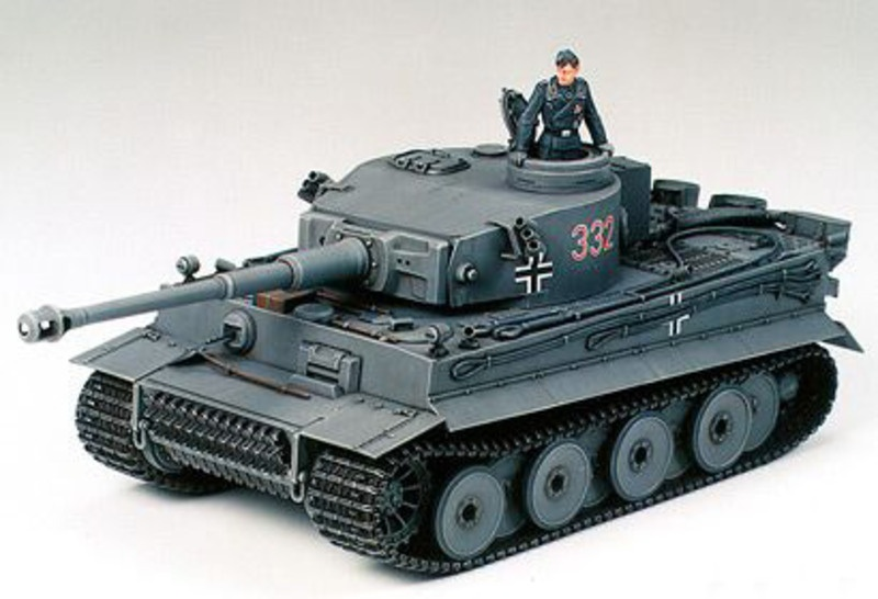GERMAN TIGER I EARLY PRODUCTION 1:35