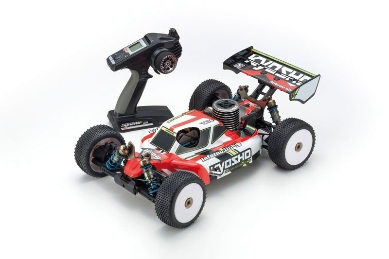 Inferno MP9 TKI4 1/8 Nitro Buggy 4WD 2,4GHz RTR