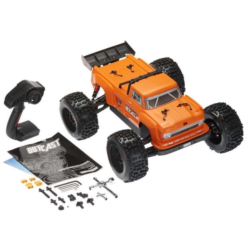 AR106033 Outcast 6S BLX 4WD Truggy 1/8 Brushless RTR, orange