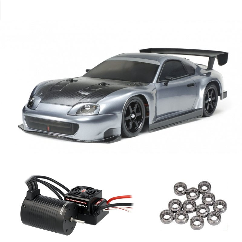 Toyota Supra Racing (A80) 4WD 1/10 TT-02 Brushless Edition