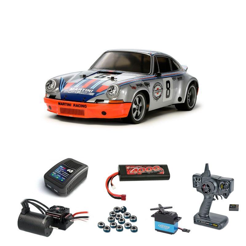 Porsche 911 Carrera RSR TT-02 Brushless-Edition Komplettset