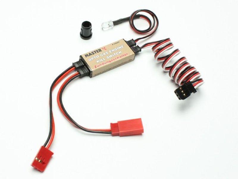 Zündschalter KILL SWITCH - Zündunterbrecher 2 Takt-Motor