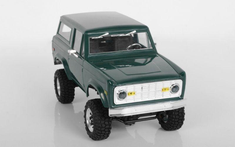 1:18 Gelände II Scale 4x4 RTR Truck mit BlackJack Karosserie