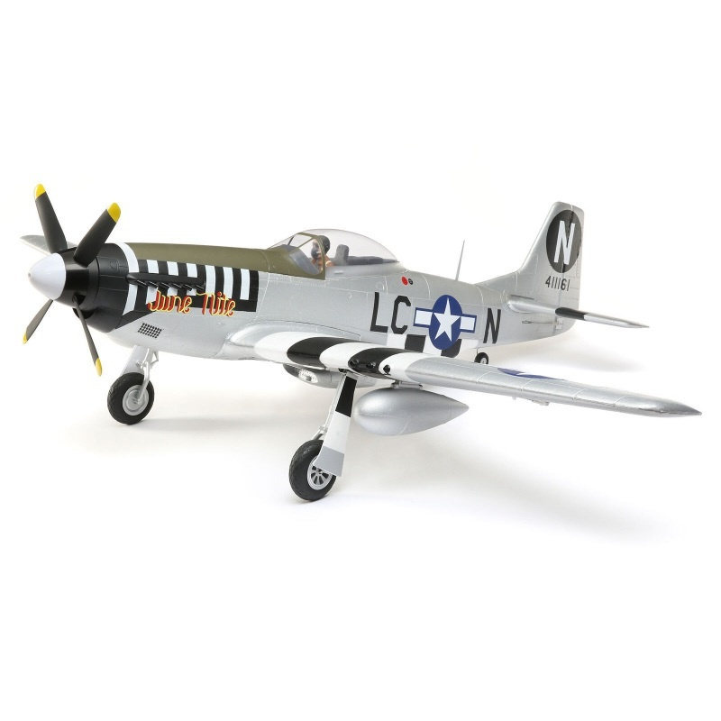 P-51D Mustang 1.2m BNF Basic mit AS3X und SAFE Select