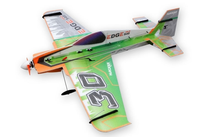Edge 540 V4.0 Toxic grün - 81 cm Shockflyer