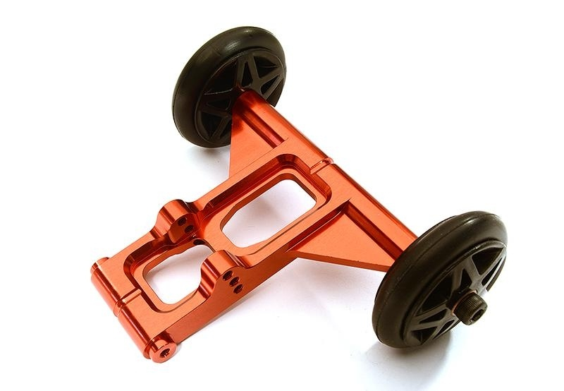 CNC Aluminium Wheelie Bar rot für 1/8 Kraton 6S BLX