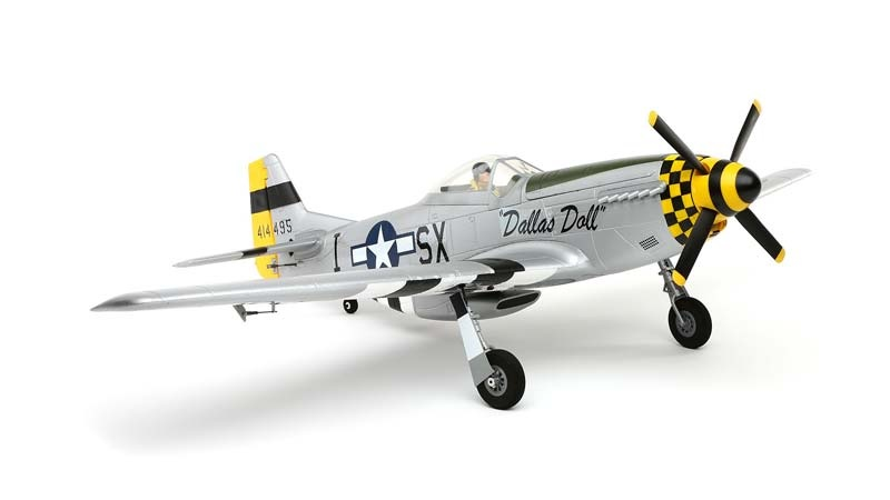P-51D Mustang 1,1m PNP