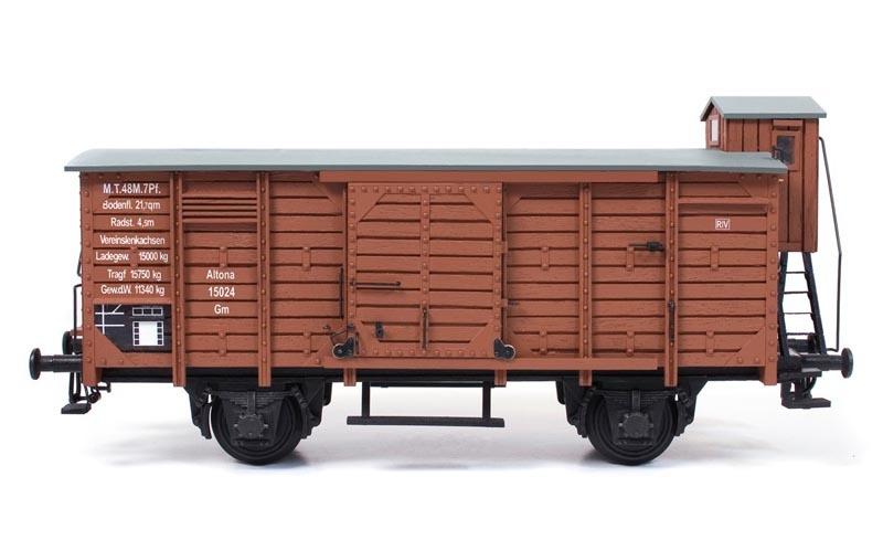 Güterwagen 1:32 Wagon Bausatz