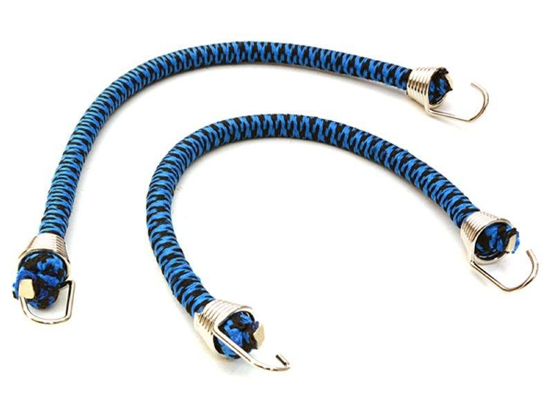 Gepäckbänder Crawler 4x150m, mit Haken - Chrome/Blau