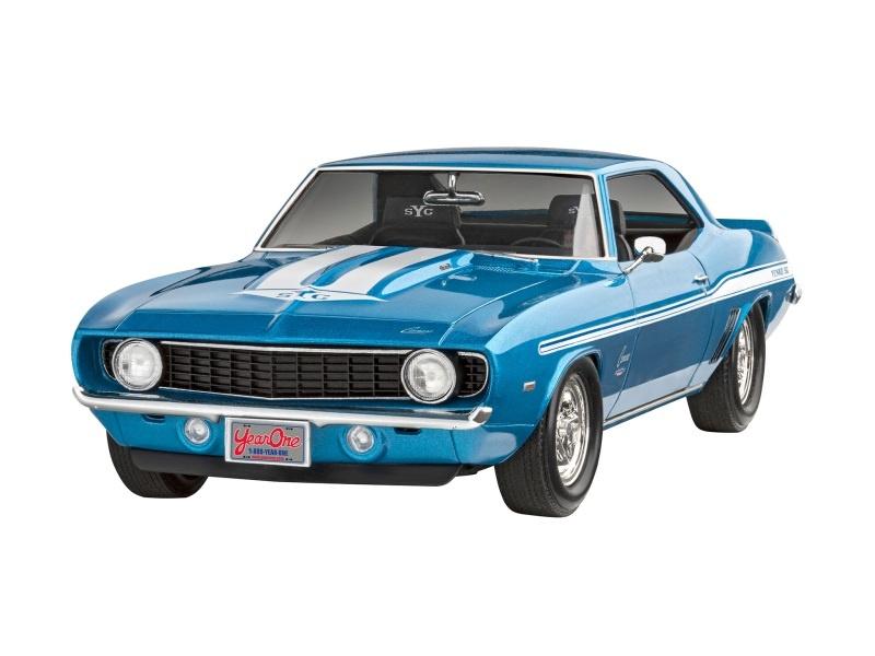 Fast & Furious 1969 Chevy Camaro Yenko Bausatz 1:25