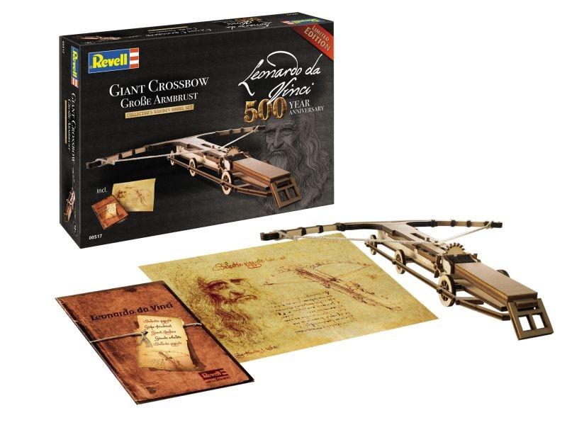 500 Jahre Leonardo da Vinci Große Armbrust