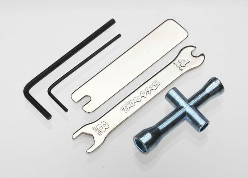 Werkzeugset (Innensechskant, Maulschlüssel, Steckschlüssel)