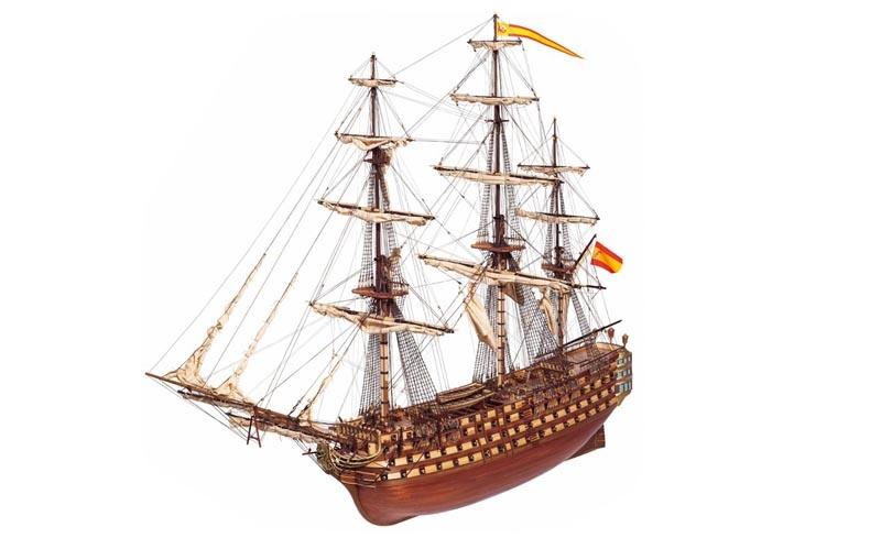 Santisima Trinidad 1:90 Schiffsbausatz