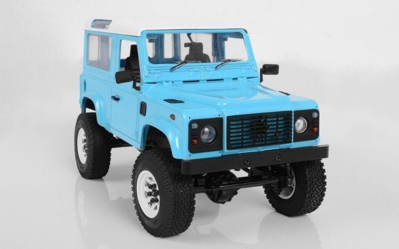 1:18 Gelände II Scale 4x4 RTR Truck mit D90 Karosserie blau