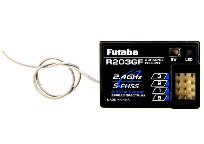 R203GF Empfänger 2,4 GHz S-FHSS 3-Kanal
