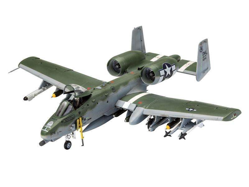 A-10C Thunderbolt II Tiefangriffsflugzeug Bausatz 1:72