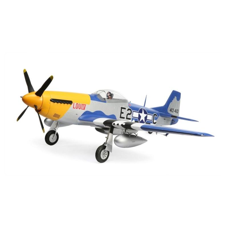 P-51D Mustang 1.5m Jagdflugzeug BNF Basic