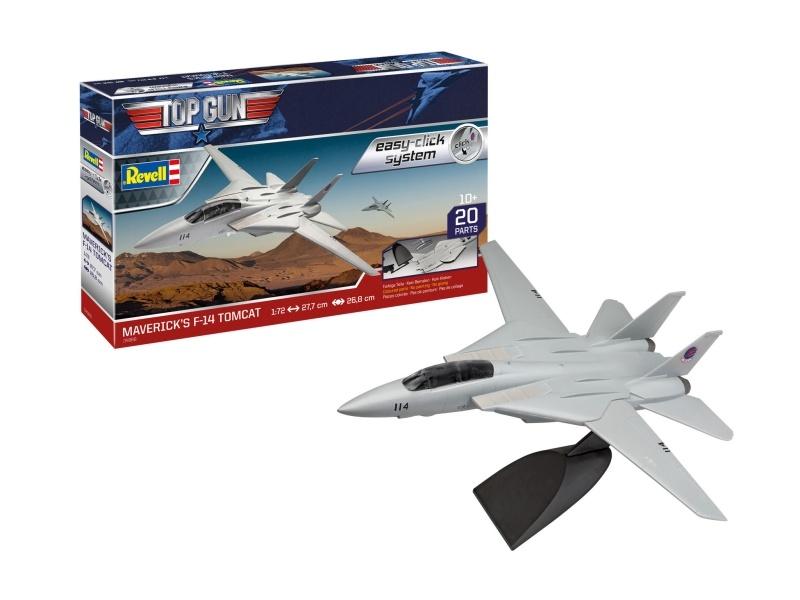Model Set - Mavericks F-14 Tomcat Top Gun 1:72 Bausatz