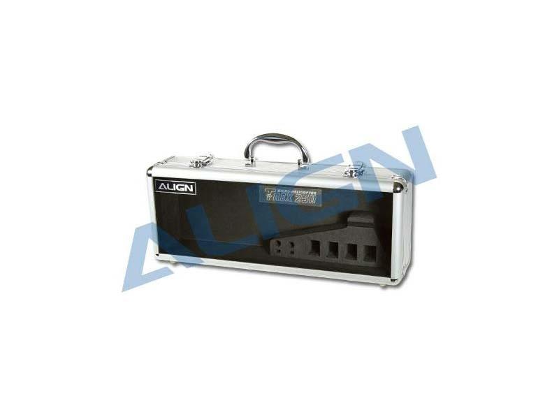 T-REX 250 Aluminum Transportkoffer, transparent