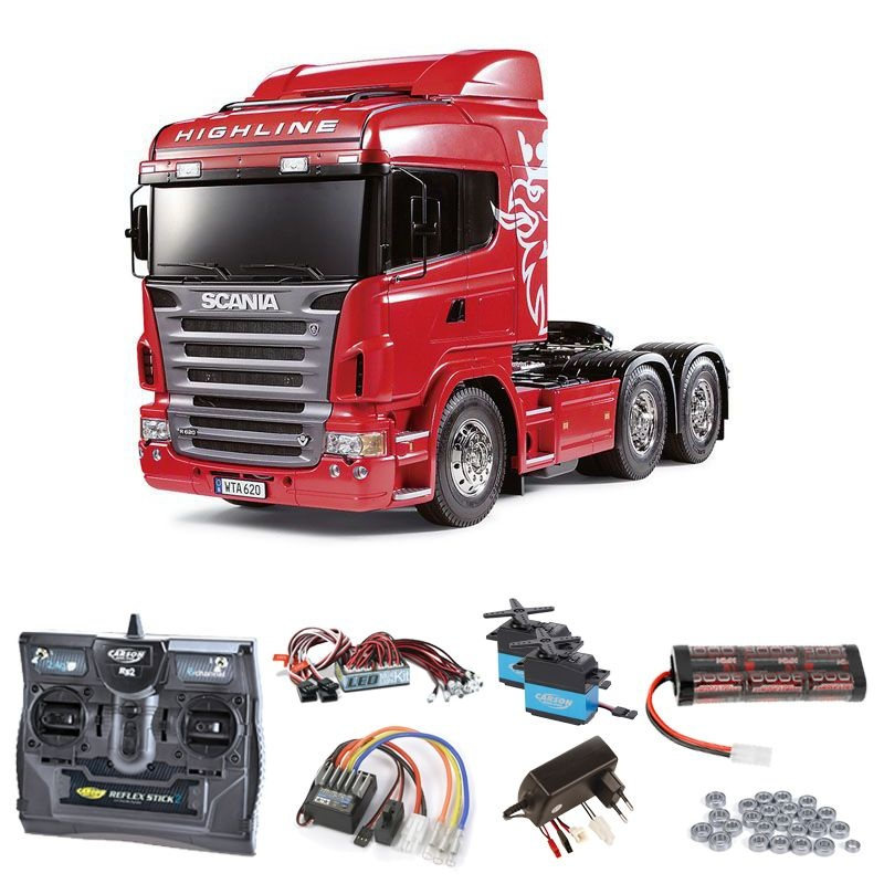 Scania R620 3-Achs 6x4 Komplettset + LED, Kugellager