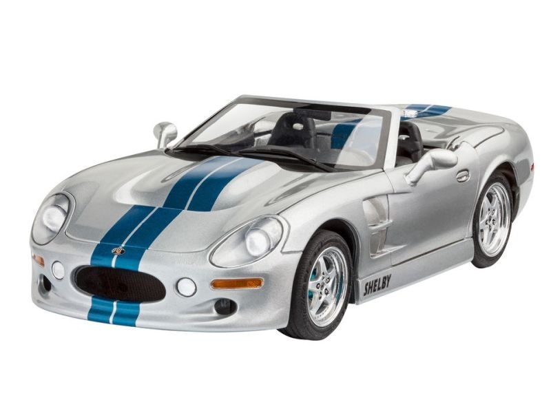 Shelby Serie 1 Sportwagen Plastikbausatz 1:25