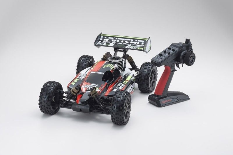 Inferno Neo 3.0 Nitro 4WD Buggy 1/8 2,4GHz RTR, rot