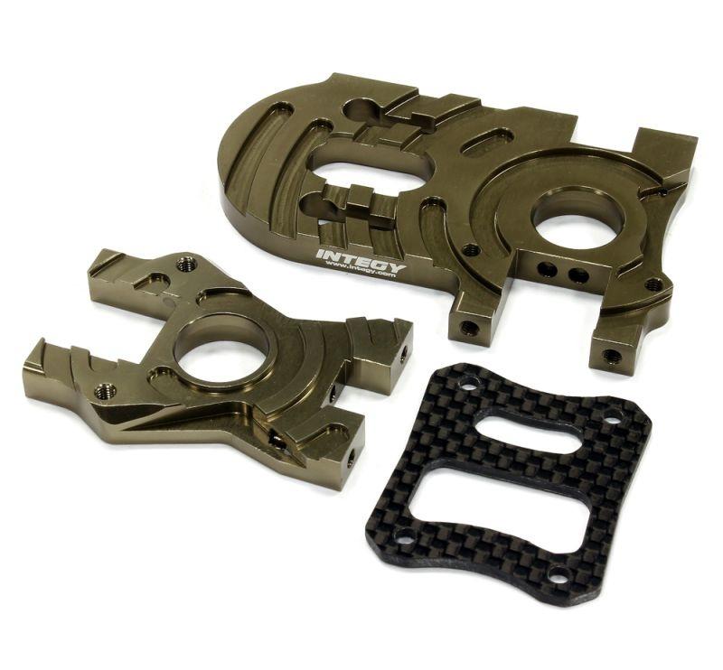 CNC Alu Motorhalter für HPI Bullet MT & ST