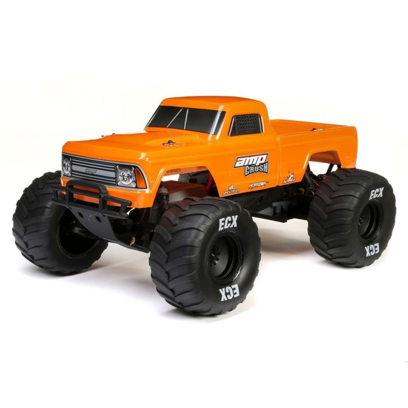 Amp Crush 2WD Monster Truck 1/10 Brushed 2,4GHz RTR, orange