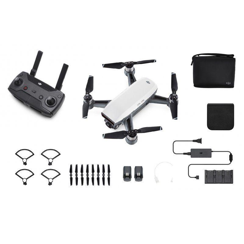 Spark Fly More Combo Selfie-Drohne Alpinweiß