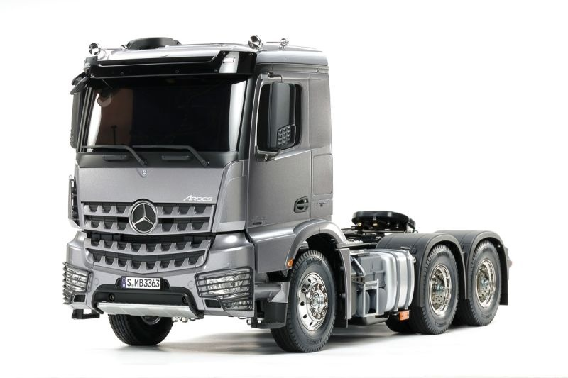 MB Arocs 3363 6x4 Truck 1/14 Light Gun Metall Bausatz
