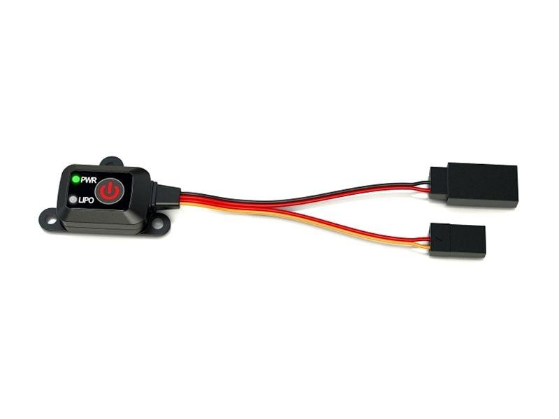 Elektronischer Schalter On/Off Schalter LiPo NiMh NiCd Akkus
