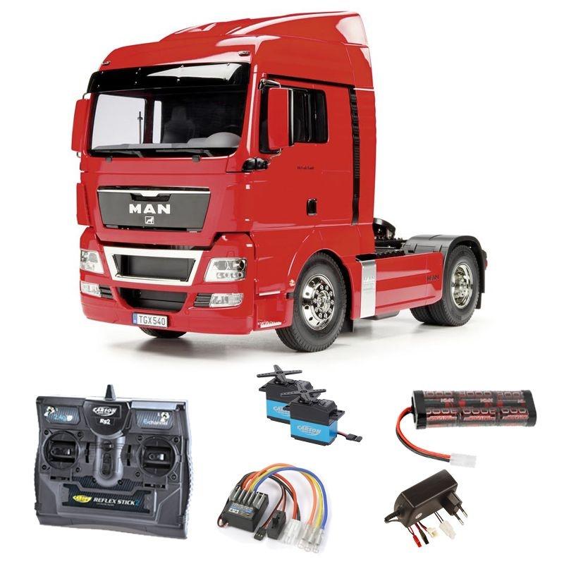 Truck MAN TGX 18.540 XLX 4x2 2-Achs 1:14 2,4GHz Komplettset