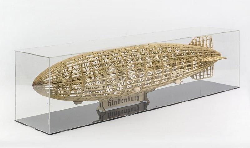 Hindenburg LZ-129 Zeppelin 600mm Holzbausatz
