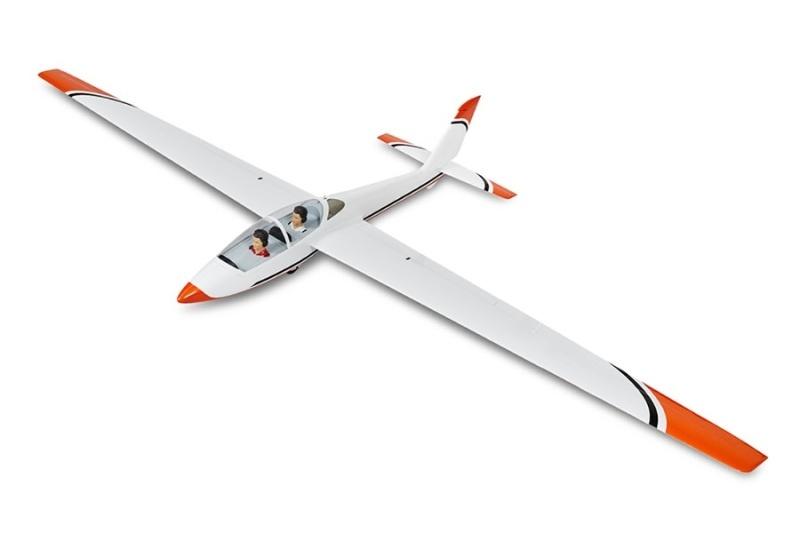 FOX - 215 cm Scale Segler voll-GFK ARF+