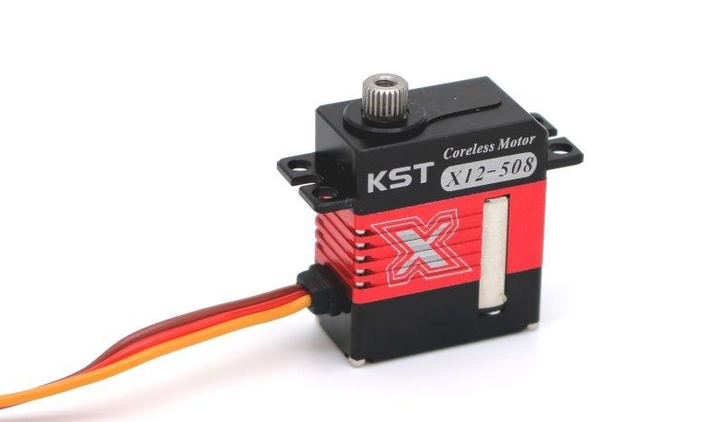 X12-508 WV High Performance Servo für Helis & Flächenmodelle