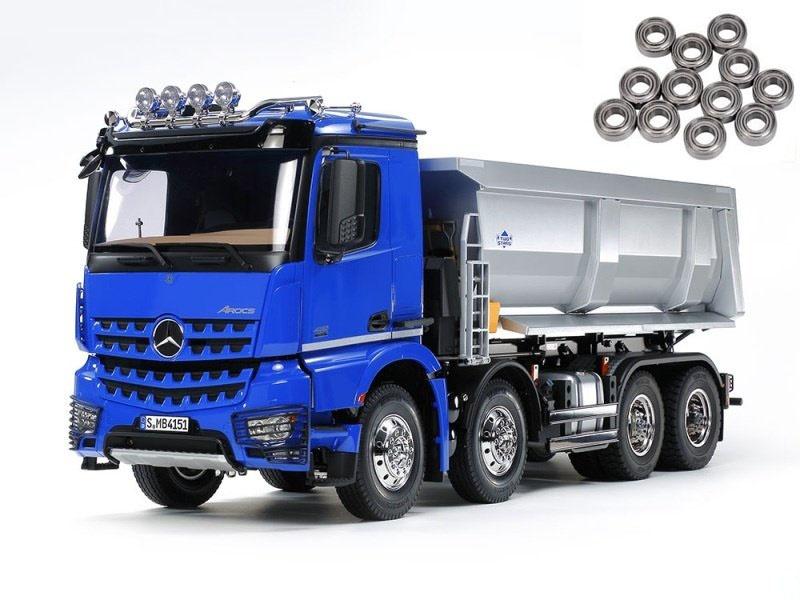 Mercedes Arocs 4151 8x4 Kipper Truck 1:14 + Kugellager