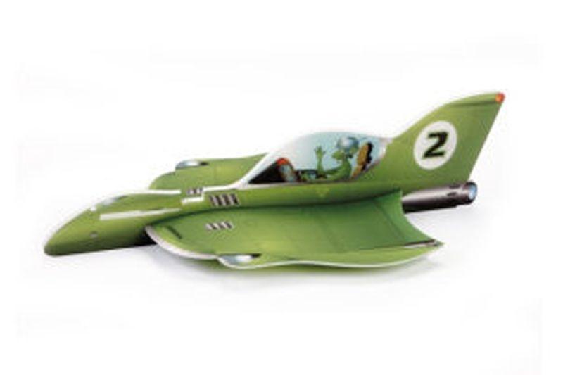 Alien Rocket  Vector Plane