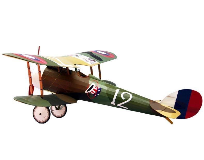 Nieuport 28 EP Lasercut Bausatz