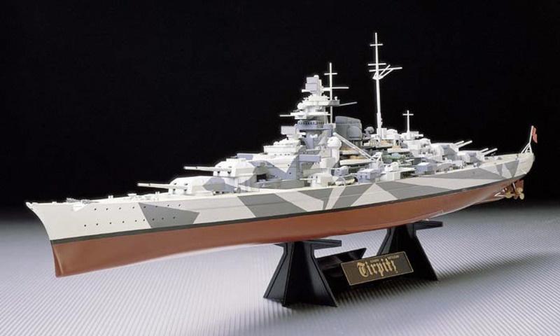 Tirpitz Deutsches Kampfschiff 1:350